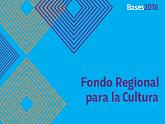 Logo de las Bases 2018 de Fondo Regional para la Cultura