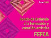 Logo de las Bases 2018 de Fondo de Estímulo a la Formación y Creación Artística